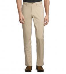 Michael Kors Beige Slim-Fit Chino Pants
