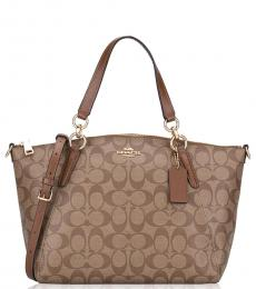 Coach Brown Kelsey Small Tote