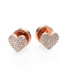 Rose Gold Fashionable Earrings