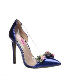 Blue Jane Embellished Heels