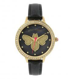 Black Glittering Goodness Watch