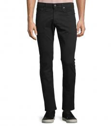 AG Adriano Goldschmied Super Black Stockton Skinny-Fit Jeans