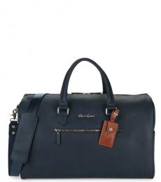 Robert Graham Navy Blanchard Lareg Duffle Bag