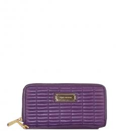 Juicy Couture Purple Nouvelle Pop Wallet