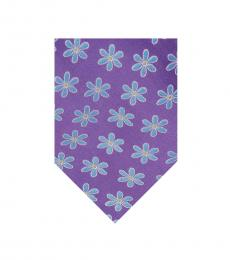 Ted Baker Purple Frames Flower Tie