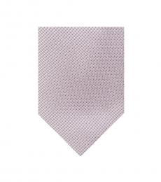 Michael Kors Pink Intricate Pebble Tie