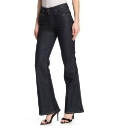 AG Adriano Goldschmied Dark Blue Quinne Flare Jeans
