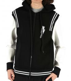 Neil Barrett Black Neopren Thunder Jacket