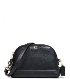 Black Ivie Medium Crossbody
