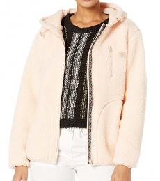 Light Pink Switchback Sherpa Jacket