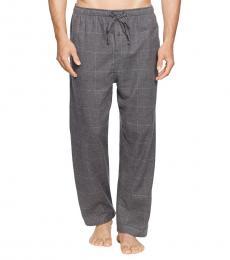 Charcoal Check Flannel Pajama