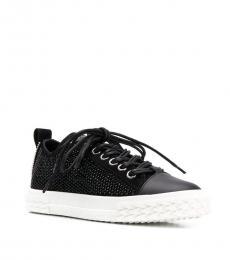 Giuseppe Zanotti Black Blabber Sneakers
