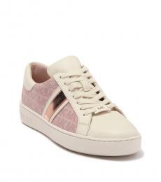 Michael Kors Soft Pink Keaton Stripe Sneakers