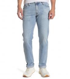 AG Adriano Goldschmied Blue Graduate Straight Leg Jeans