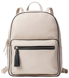 Kate Spade Beige Aveline Large Backpack