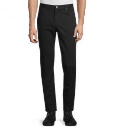 Michael Kors Black Replen Slim Straight Trousers