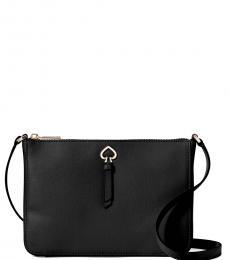 Black Adel Medium Crossbody Bag