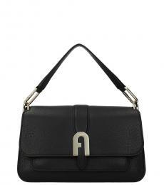 Furla Black Sofia Small Shoulder Bag