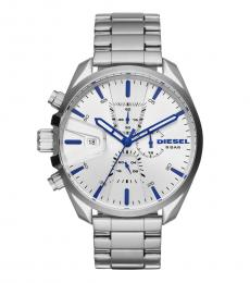 Silver Chronograph Dial Watch