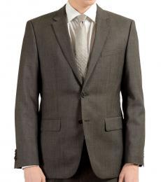 Hugo Boss Dark Grey Wool Blazer