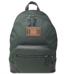 Dark Green West Large Backpack