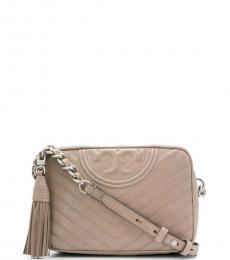 Taupe Chelsea Camera Small Crossbody