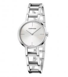 Silver Cheers Quartz Silver Dial Watch