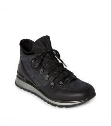Karl Lagerfeld Grey Black Hiker Sneakers