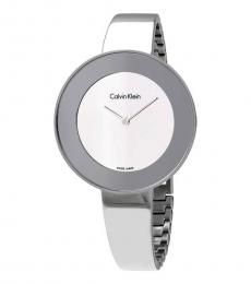 Calvin Klein Silver Chic Mirror Watch