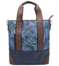 Robert Graham Botanical Cylinder Large Tote