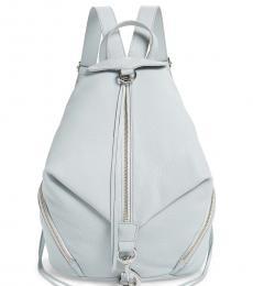 Rebecca Minkoff Ice Grey Julian Large Backpack