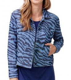 Denim Printed Jacket