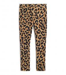 J.Crew Little Girls Leopard Print Leggings
