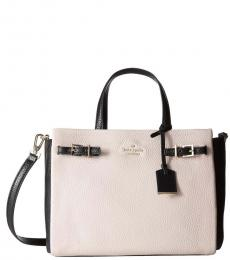 Kate Spade Pebble Holden Street Two-Tone Medium Satchel