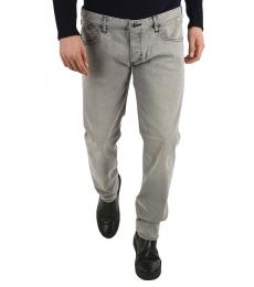 Armani Jeans Grey Slim Fit Jeans