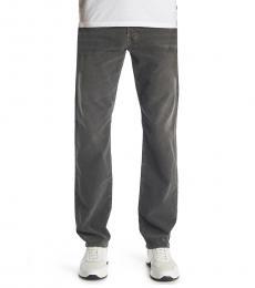 AG Adriano Goldschmied Dark Grey Graduate Tailored Twill Jeans
