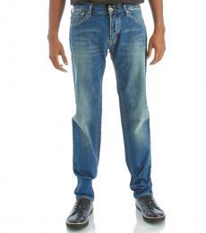 Armani Jeans Blue Vintage Skinny Jeans