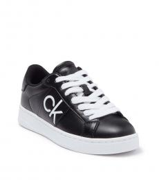 Calvin Klein Black KC Reese Low-Cut Sneakers
