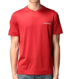 Red Front Logo T-Shirt
