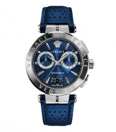 Versace Blue Chronograph Aion Watch