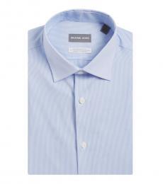 French Blue Stripe Dress Shirt