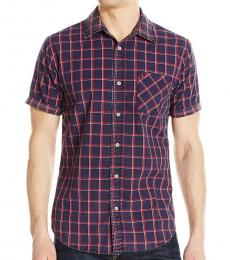 True Religion Multicolor Slim Button Up Shirt
