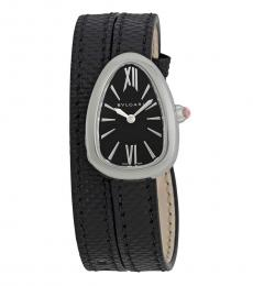 Bulgari Black Serpenti Double Wrap Watch