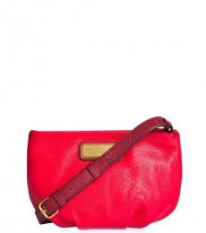 Marc by Marc Jacobs Red Percy Medium Crossbody