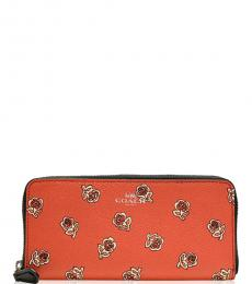 Coach Coral Sienna Rose Wallet