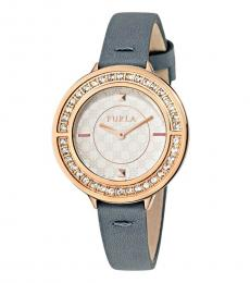 Furla Grey Club Groovy Watch