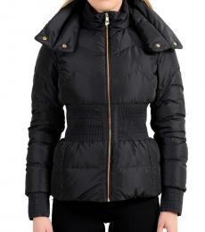 Versace Collection Black Parka Jacket