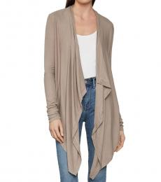 BCBGMaxazria Natural Angela Cardigan Wrap