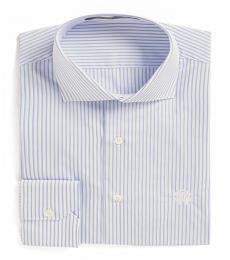 Roberto Cavalli White Stripe Dress Shirt