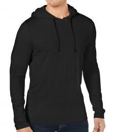 Michael Kors Dark Midnight Luxe Cotton Hoodie